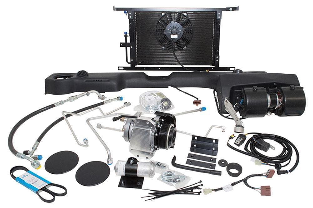 Front Air Conditioning Kit for Defender 3.5 L V8 Carb - LHD Left Hand Drive OE