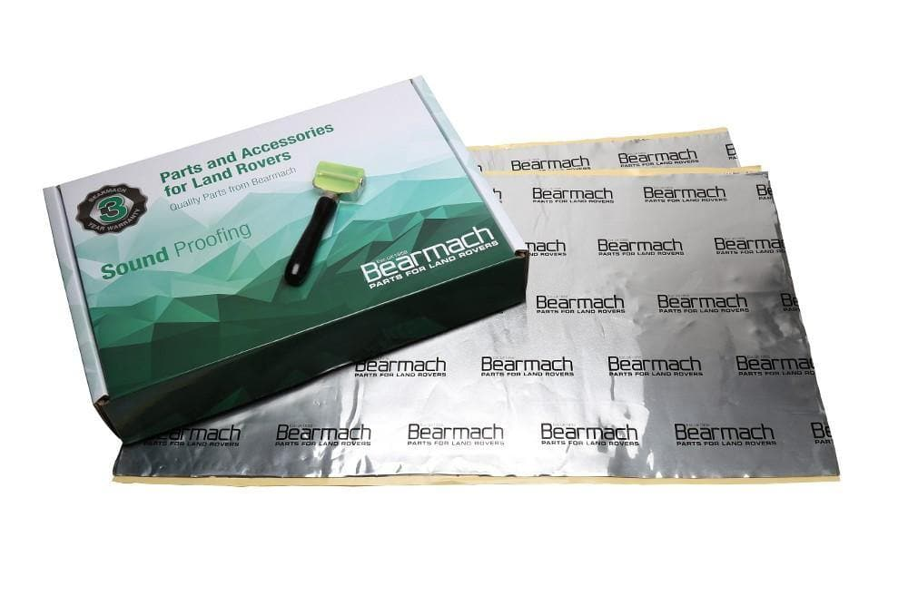 Bearmach 2 Sheet Sound Proof Kit (2x 800x460mm) for Land Rover All Models | BA 6953