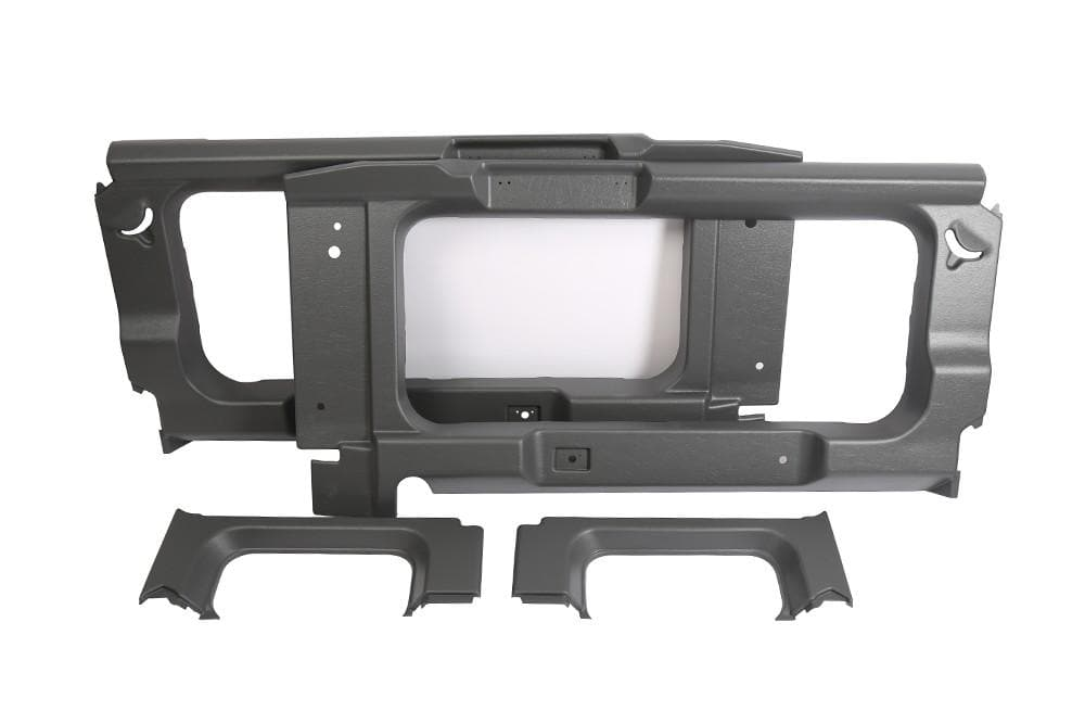 Bearmach Light Grey Rear Side Window Interior Trim Kit for Land Rover Defender | BA 8001