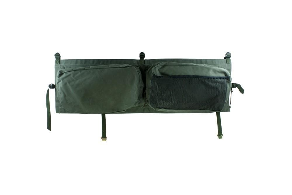 Bearmach Green Saddle Bag (Pair) for Land Rover Defender | BA 8775