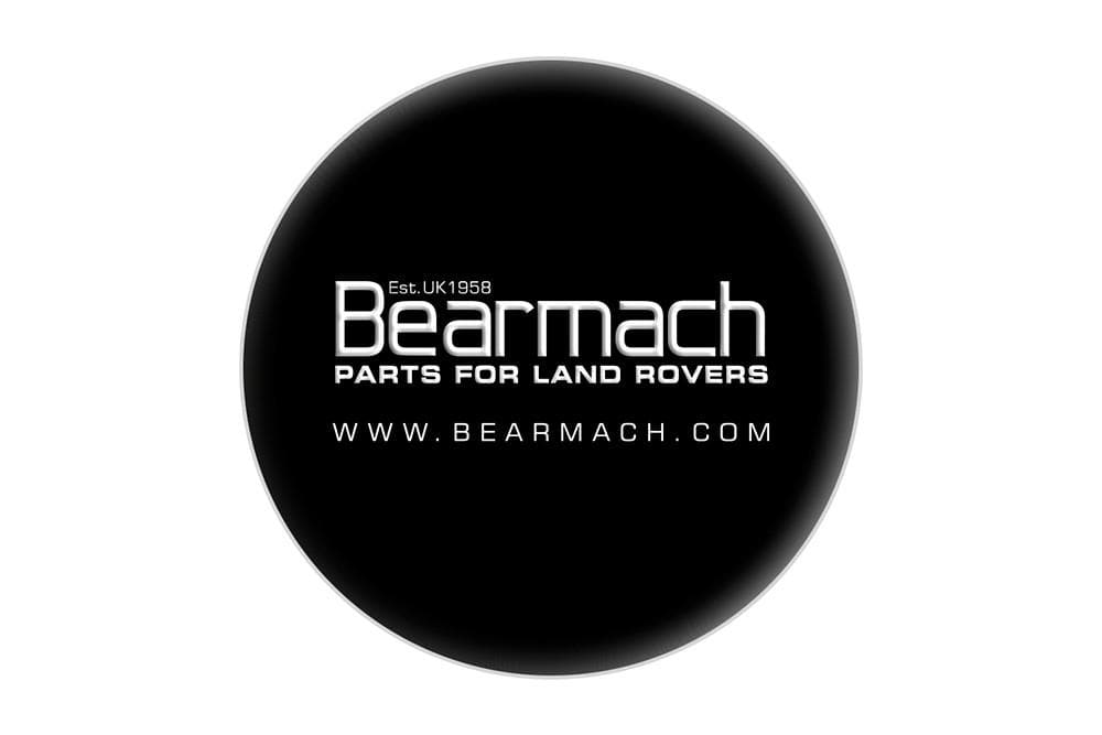 "Bearmach Land Rover Rigid Spare Wheel Cover 16"" 235/70/16 - Branded 