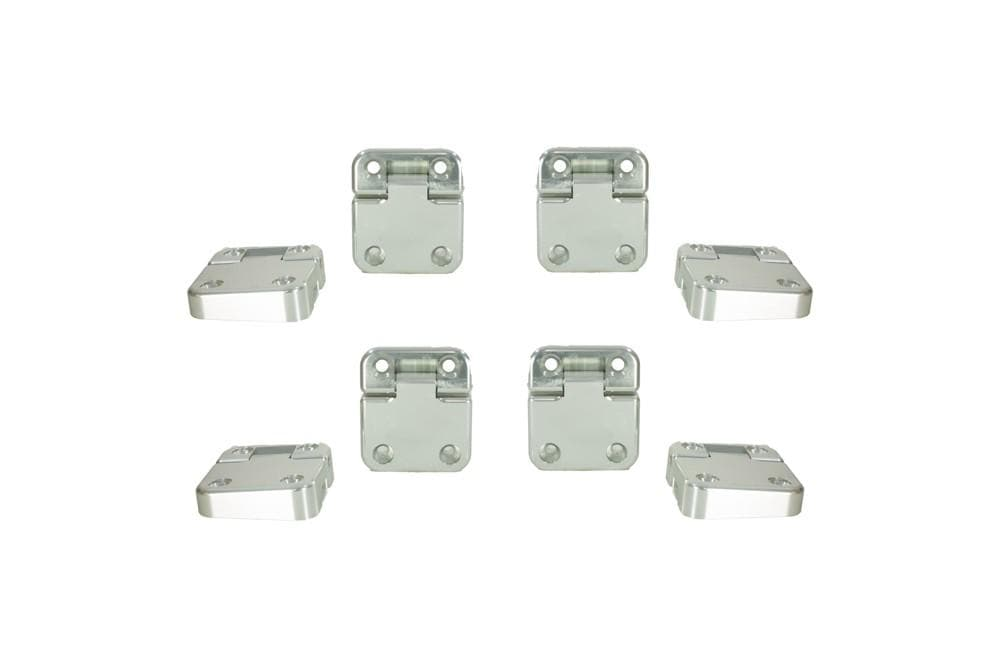 Croytec Aluminium Door Hinge Kit 8pc for Land Rover Defender | BA 9126