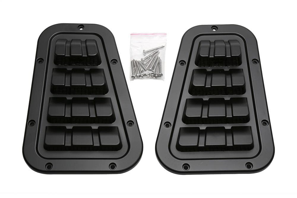 Bearmach Defender Black Two Line Top Vent for Land Rover Defender | BA 9460