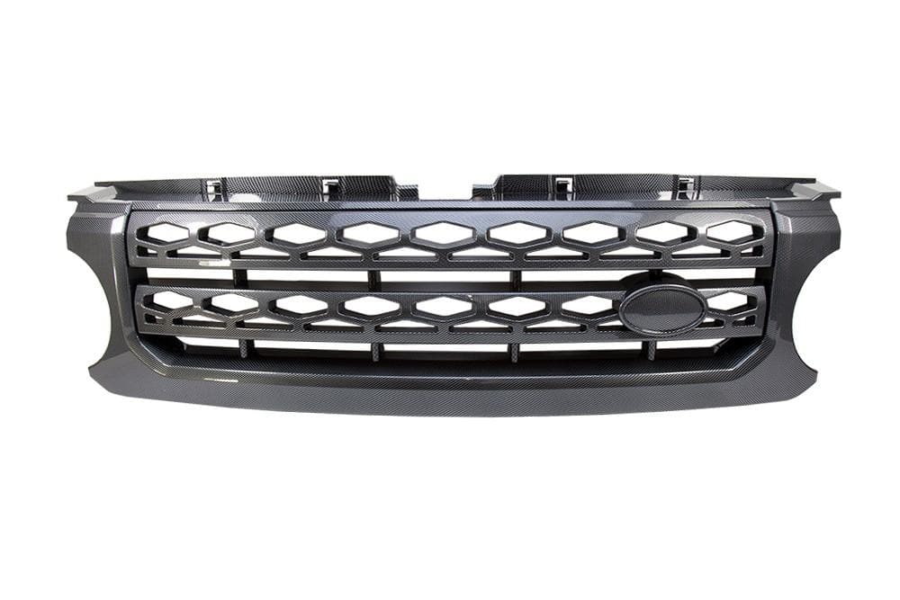 Bearmach Discovery 4 Carbon Fibre Style Radiator Grille for Land Rover Discovery | BA 9503