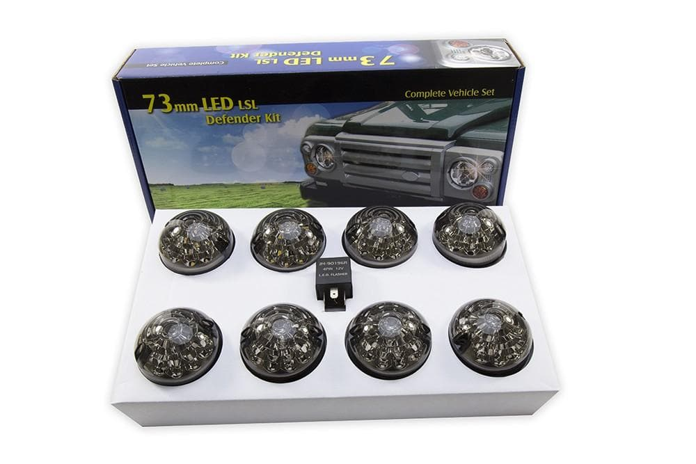 Bearmach Defender/Series LED Smoke Lamp Upgrade Kit for Land Rover Series, Defender | BA 9720