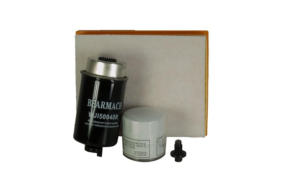 Bearmach Defender Puma 2.2 Tdci Service Kit Canister Style Oil Filter for Land Rover N/A | BK 0071