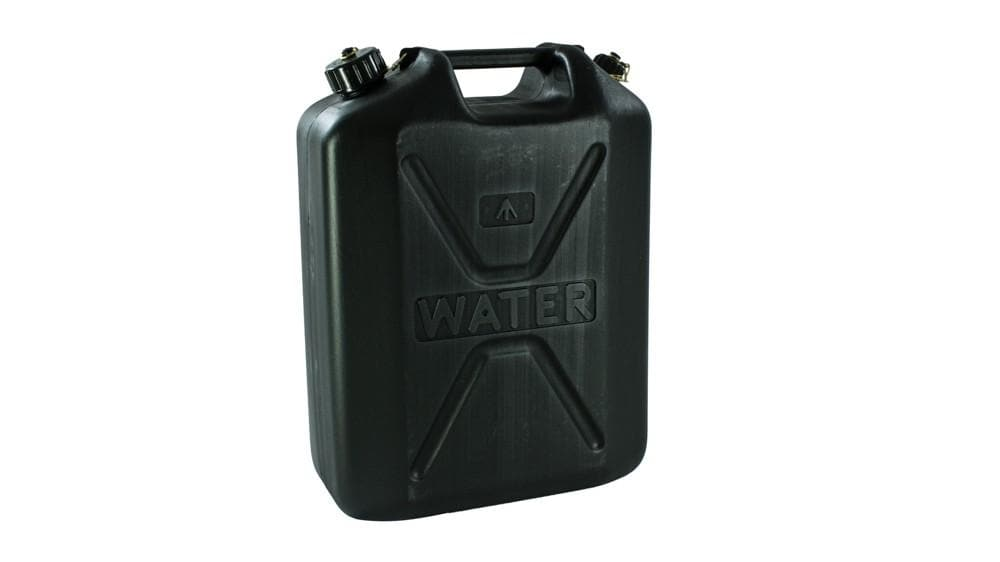 Wavian Black Plastic Water Canister 2kg for Land Rover All Models | BR 1016WB