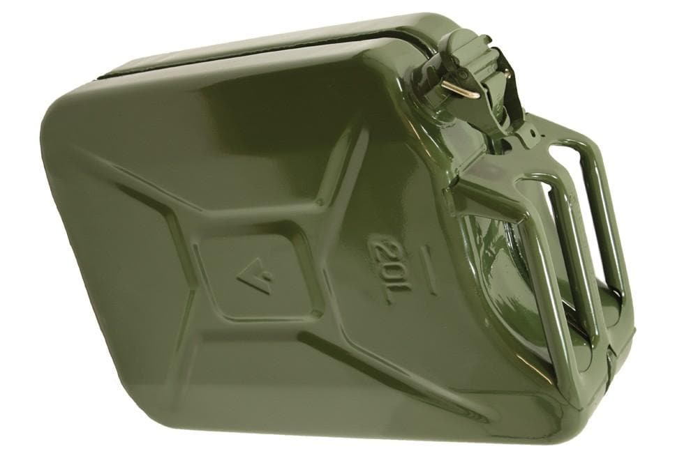 Wavian 20L Steel Jerry Can - Khaki for Land Rover All Models | BR 1016