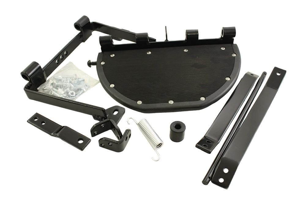 Bearmach Series IIA 88/109 Folding Rear Side Step Kit for Land Rover Series | BR 1456