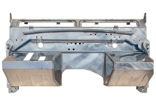 "Land Rover Series IIA Bulkhead for 88/109"" Galvanised - TerrainTech Parts"