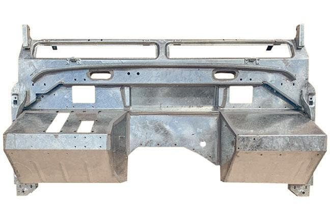 "Land Rover Series III Bulkhead for 4-cyl 88/109"" Galvanised - TerrainTech Parts"