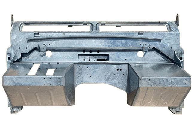 "Galvanised Bulkhead Series II 88/109"" Land Rover"