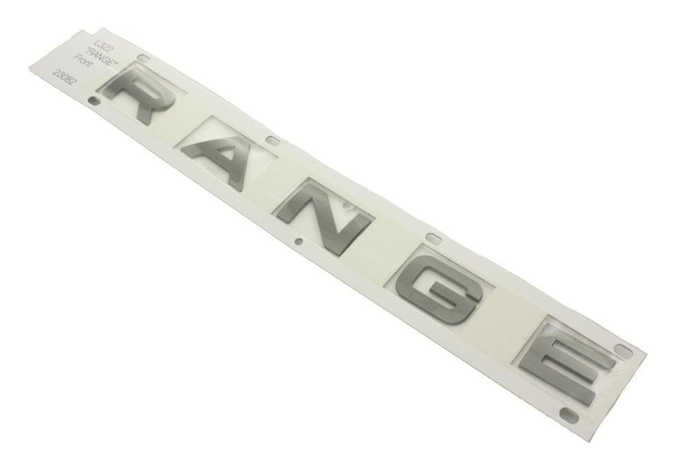 Land Rover (Genuine OE) Name Plate Front RANGE for Land Rover Range Rover | DAB000061