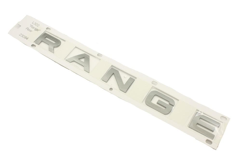 Land Rover (Genuine OE) Name Plate Rear RANGE for Land Rover Range Rover | DAB000081