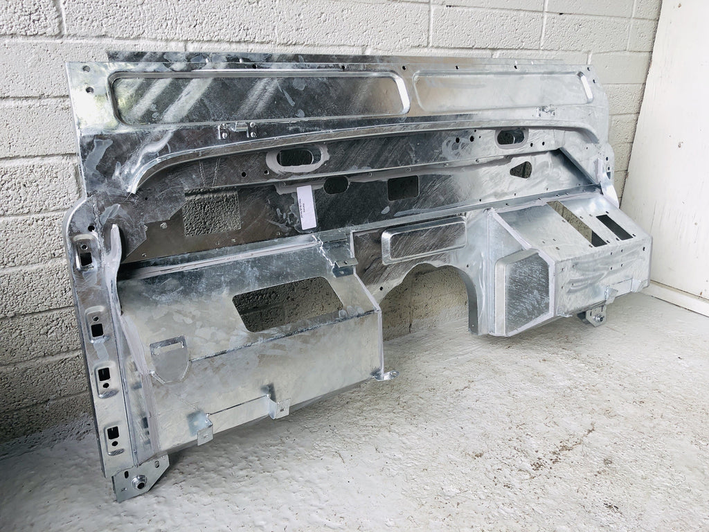 Galvanised Bulkhead Defender 110 V8 Assembly