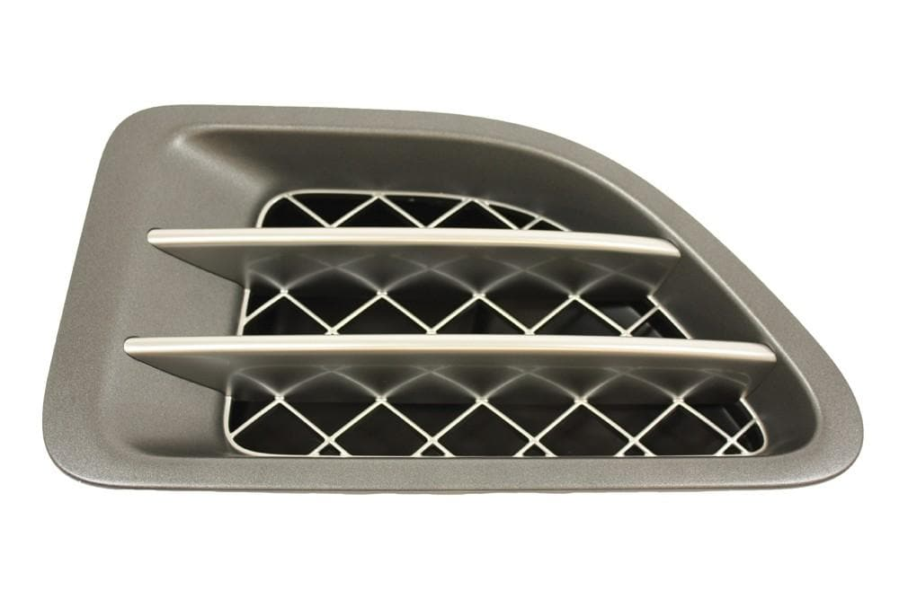 Land Rover (Genuine OE) Side Grille Tungsten/Titan (Left LH N/S) for Range Rover Sport | JAK500230WWH