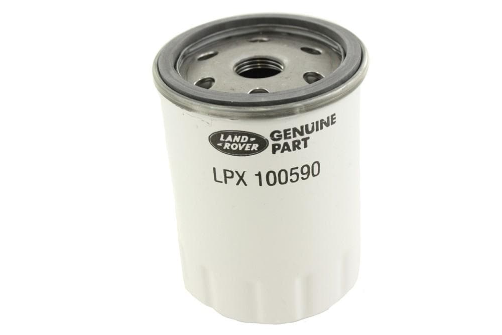Land Rover (Genuine OE) Oil Filter for Land Rover Defender, Discovery | LPX100590G