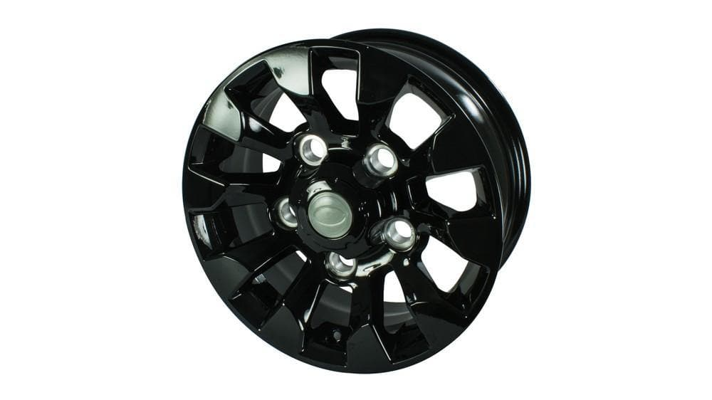Bearmach 16 Black Sawtooth Alloy Wheel for Land Rover Defender, Discovery, Range Rover | LR025862