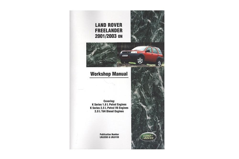 Brooklands Workshop Manual - Freelander 1 for Land Rover Freelander | LRF2WH