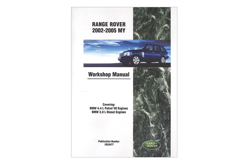 OEM Workshop Manual - Range Rover L322 2002 - 2005 for Land Rover Range Rover | LRL0477