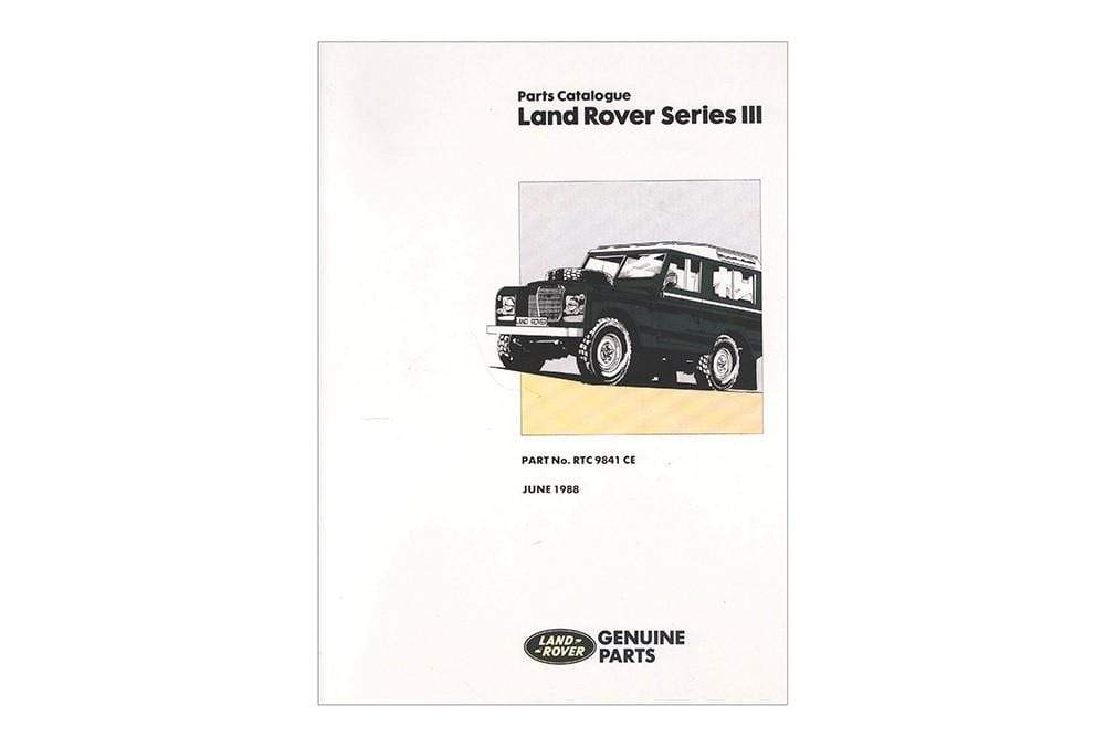 OEM Parts Catalogue - Series 3 for Land Rover Series | RTC9841C