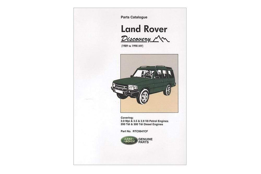 OEM Parts Catalogue - Discovery 1 for Land Rover Discovery | RTC9947C