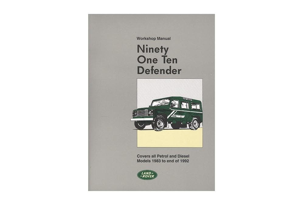 OEM Workshop Manual - 90/110 for Land Rover Defender | SLR621EM
