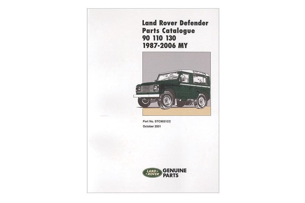OEM Parts Catalogue - Defender for Land Rover Defender | STC9021CC
