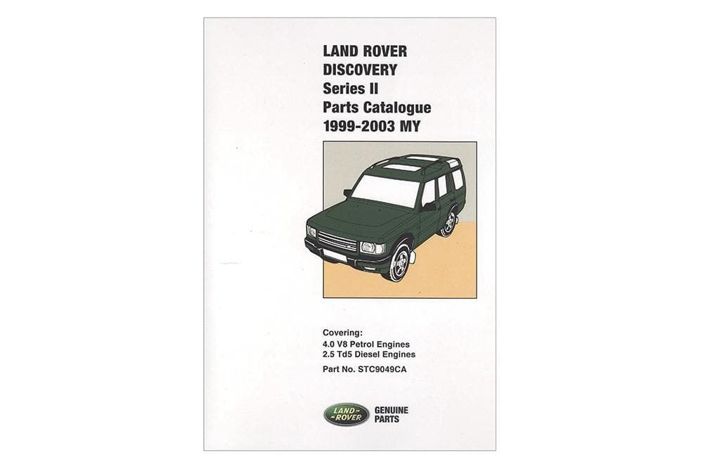 Brooklands Parts Catalogue - Discovery 2 for Land Rover Discovery | STC9049CB