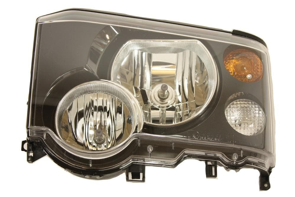 Land Rover (Genuine OE) 02-04 Land Rover Discovery 2 RHD Halogen Headlight - Left LH N/S | XBC001630