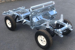 Galvanised Chassis Defender 130 Td5 with Gearbox Crossmember