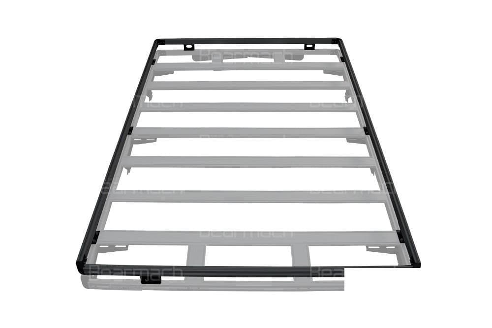 Bearmach Black Defender 110 Roof Rack Top Rail for Land Rover Defender | BA 3861TR