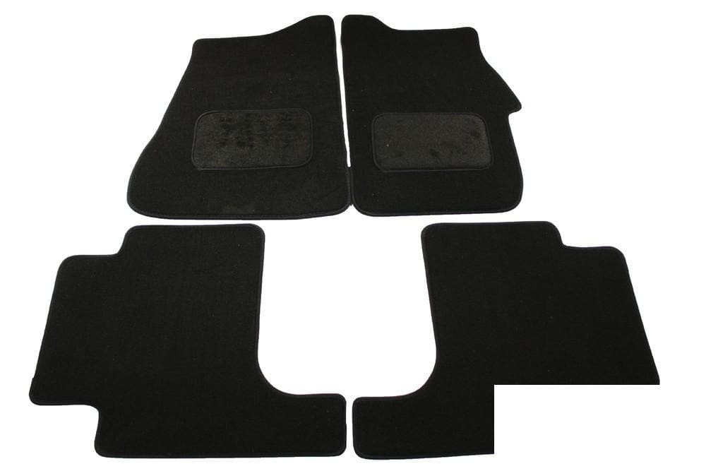 Bearmach Discovery 3 RHD Mid Grey Carpet Mat Set for Land Rover N/A | BA 4432