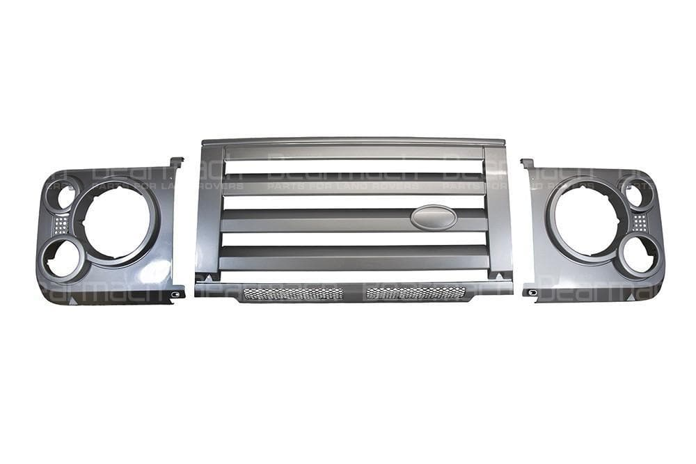 Bearmach SVX Style Silver Grille Kit for Land Rover Defender | LR008362S