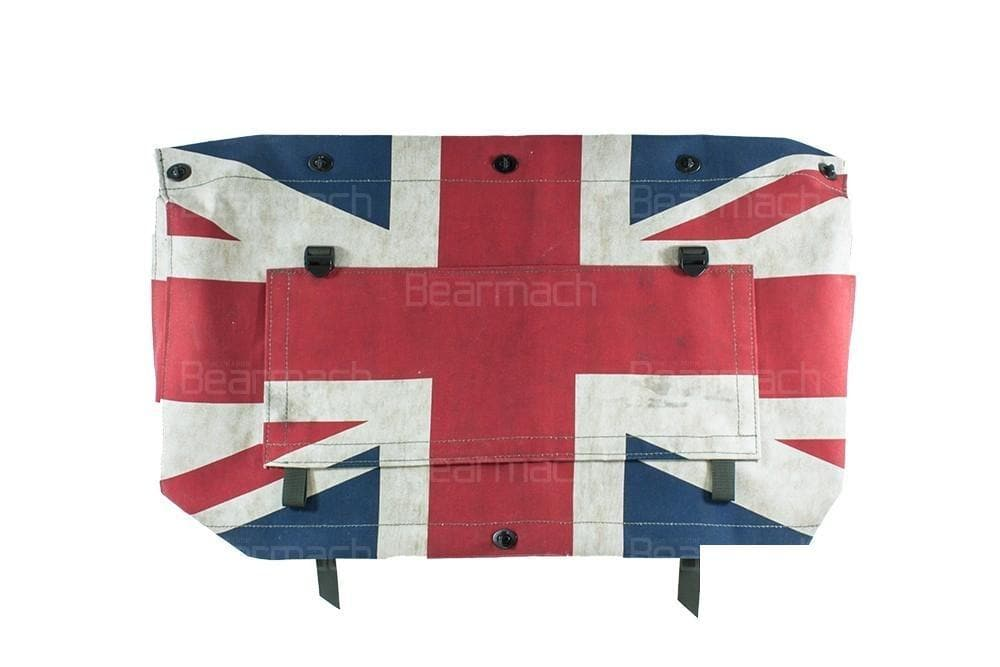 Bearmach Union Jack Radiator Muff for Land Rover Defender | BA 8789