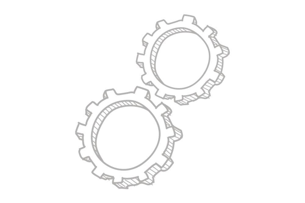 Land Rover (Genuine OE) Oil Pump Chain/Sprocket Kit for Land Rover Defender, Discovery | LQX10013
