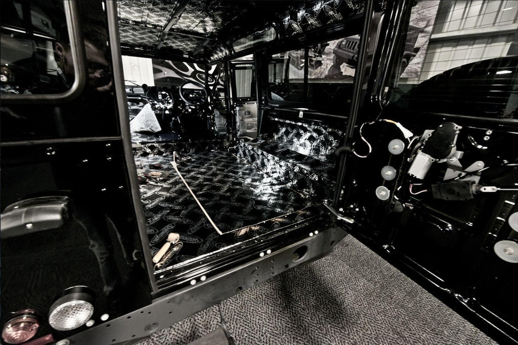 Kahn Full Vehicle Sound Proofing (Fitting Included) - Defender 90