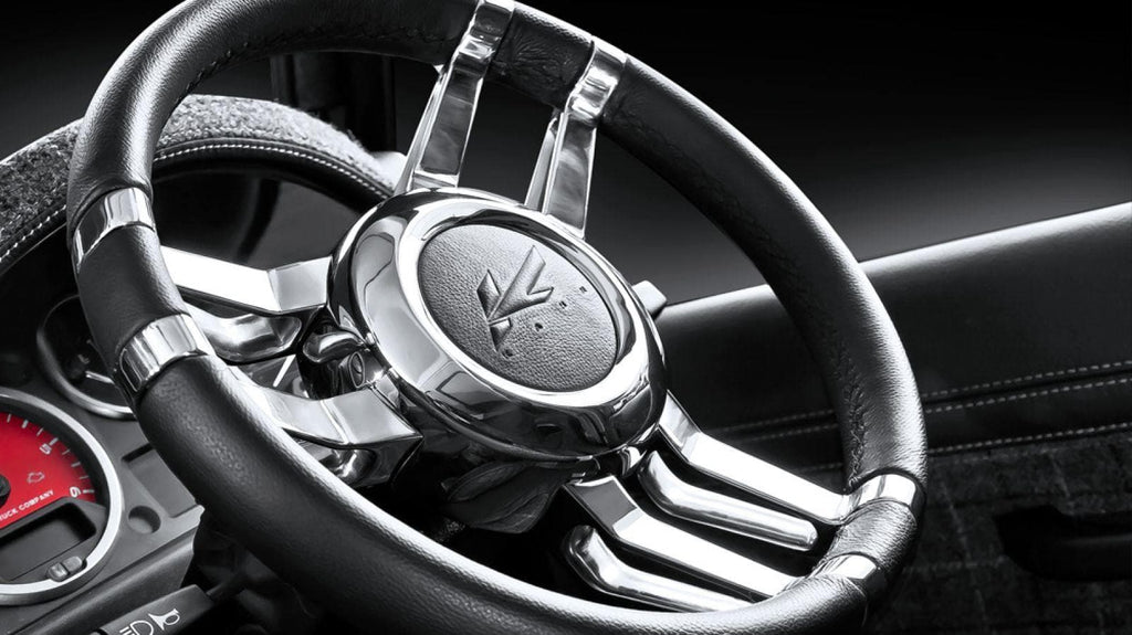Kahn Aluminium Billet Steering Wheel - Defender