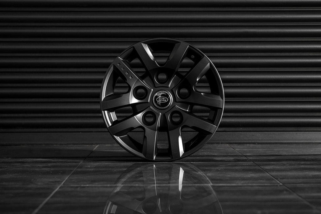 "Kahn Alloy Wheel 8x16"" Defend 1948 Satin Black - Defender"