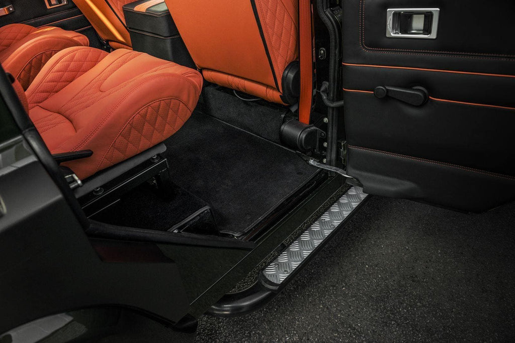 Kahn Luxury Fitted Floor Carpet (Front & Rear) - Defender