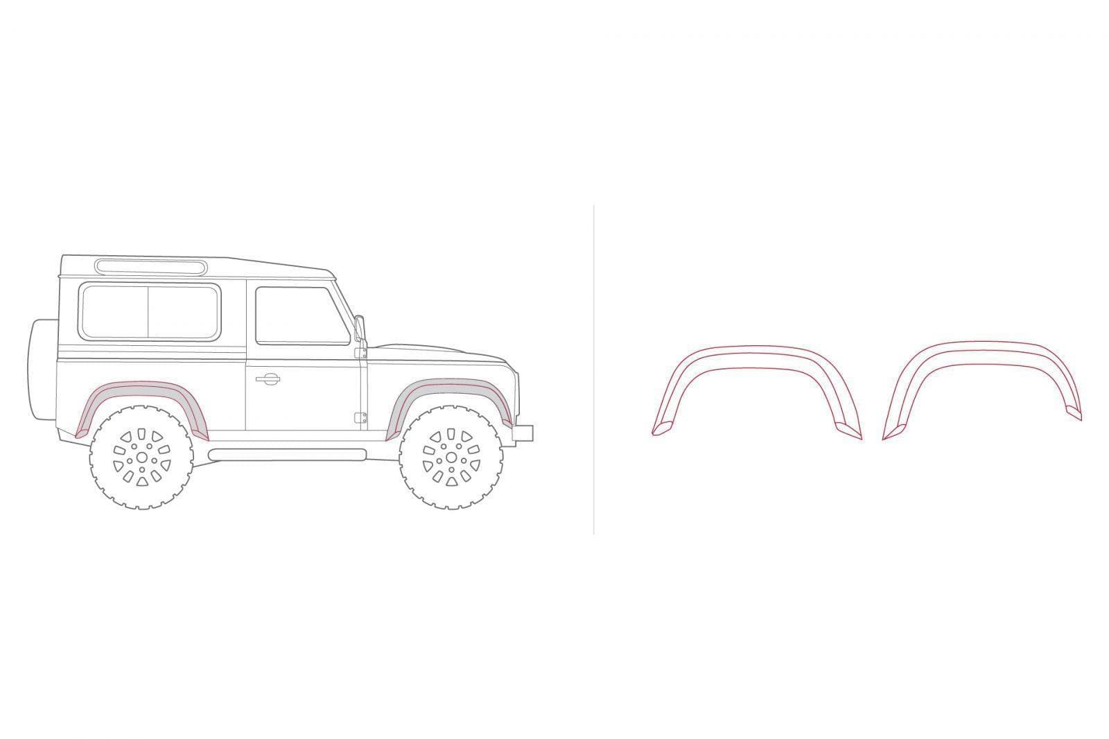 Kahn Forest Arch Body Kit with Wide Wheel Arches