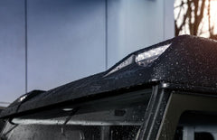 Kahn Front Roof Shield Wing with LED Lights - Defender