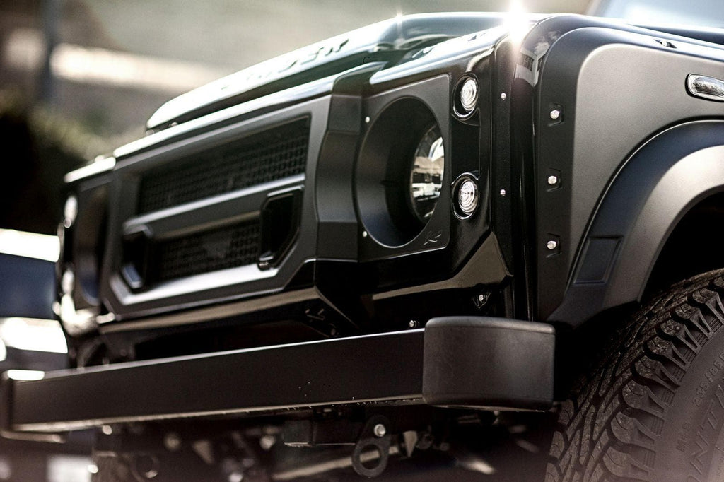 Kahn X-Lander Front Grille With Headlight Surrounds - Defender