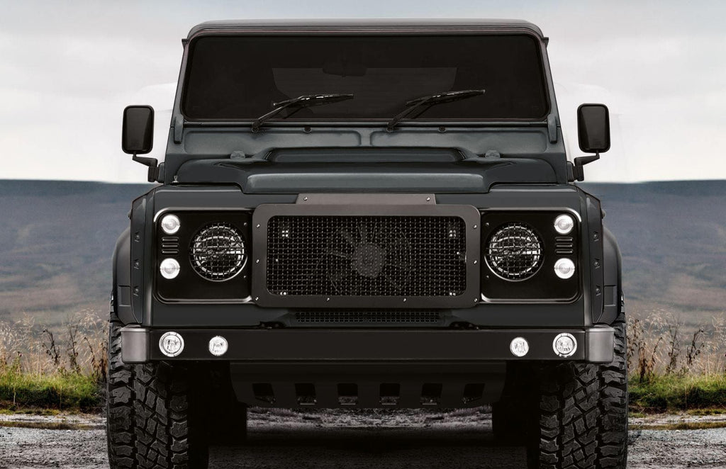 Kahn Front Grille With Stainless Steel Mesh - Defender - TerrainTech Parts