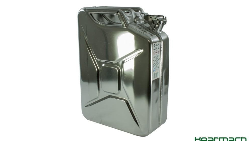 Wavian Stainless Steel Jerry Can 20L for Land Rover All Models | BR 1016SS