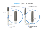 Sonic Prostate Massager by Prostate Health Center | Prostate Wellness Massager | Best Home Use Prostate Massage Device | BONUS: Prostate Massage Manual eBook by Prostate Health Expert and Harvard Graduate - Dr. Bazar