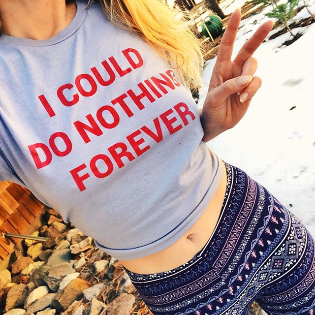 I COULD DO NOTHING RELAXED T-SHIRT