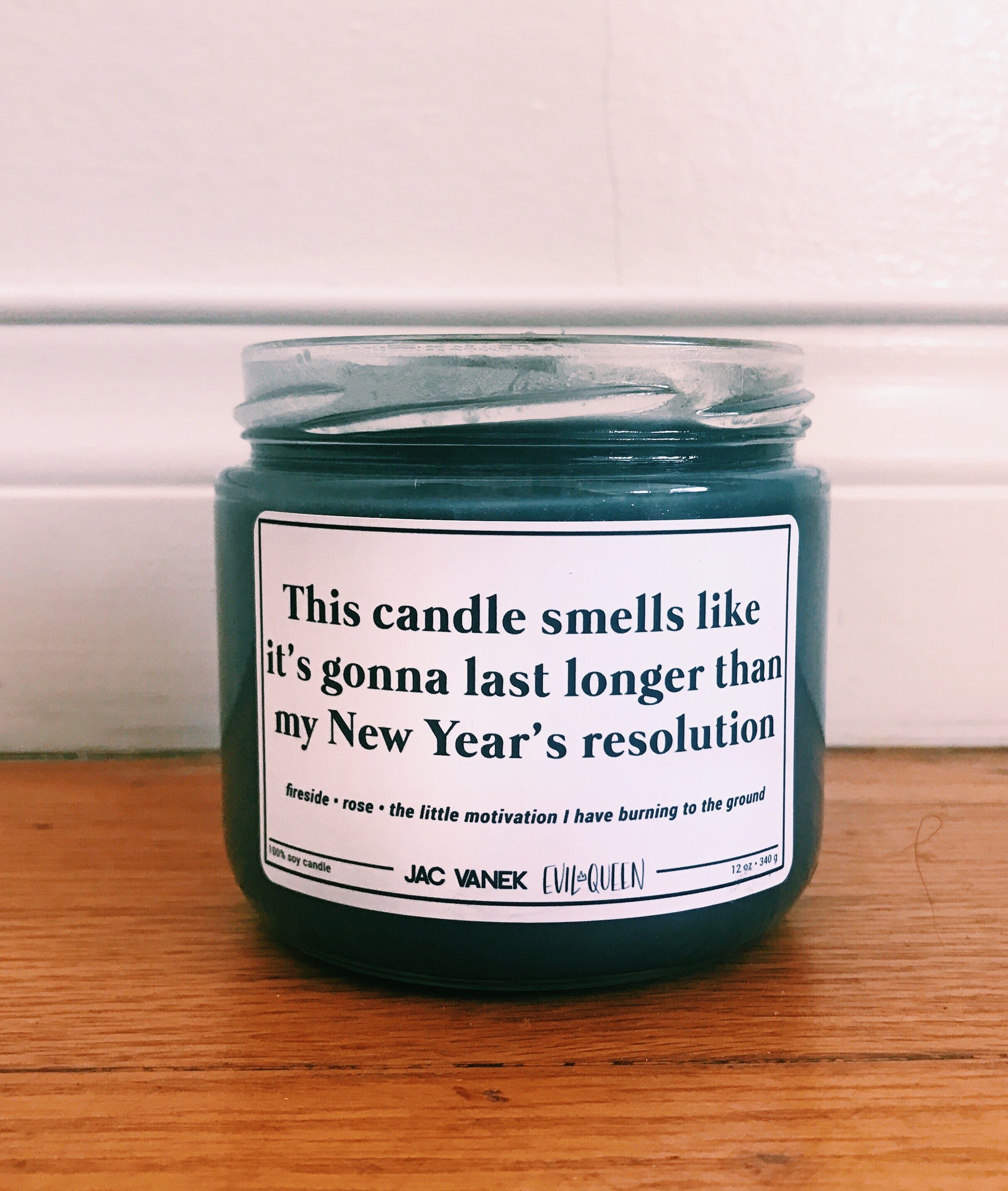 NEW YEAR NEW ME SCENTED CANDLE