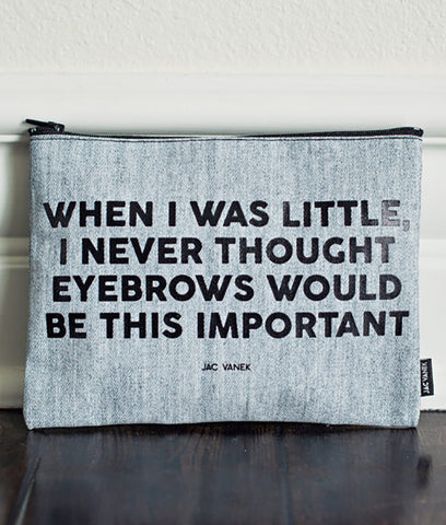 BELIEVE IN YOURSELF ZIP POUCH
