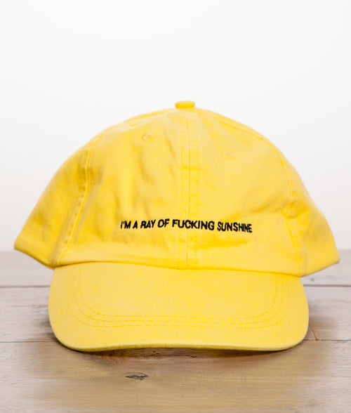 RAY OF SUNSHINE DAD HAT